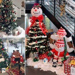 All decked out for the holidays at our head office.
