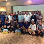FrieslandCampina photo: Training with our distributor
