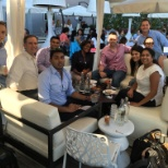 Capgemini photo: Our CC team in Chicago is enjoying a night out together