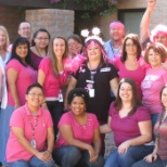 Pink Breast Cancer Awareness Group Pic