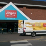 Argos photo: Van and Store