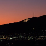 City of El Paso, TX photo: Star on the mountain!