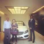 C250 amgline estate handover