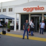 During training for Aggreko product