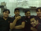 with my co-workers