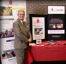 Source4Teachers' Director of Training, Jim Wasser, at Rutgers University Collegiate Career Day