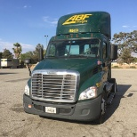 ABF Freight photo: A random shot of a 2015 Freightliner Cascadia with an auto-shift transmission.