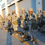 3rd to the left. Here we was getting our equipment ready to fire at range.