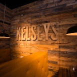 Kelseys Original Roadhouse photo: Wood wall