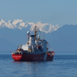 Canadian Coast Guard photo: Calm Seas