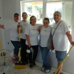 Bank Independent photo: Volunteering with Habitat for Humanity
