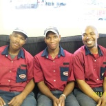 My very efficient and hard working event team in East London
