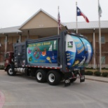 Community Waste Disposal photo: CWD proudly services the town of Little Elm.
