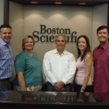 Boston Scientific photo: Training Team