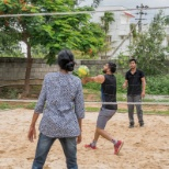 photo of CGI Group, Volleyball practice for CGI Annual sports fest