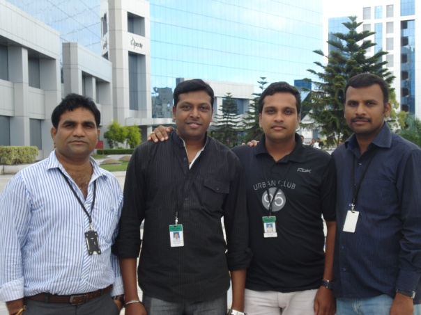 Me & colleagues