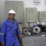 Brookfield Global Integrated Solutions photo: Installation repair and maintenance motor pumps 
