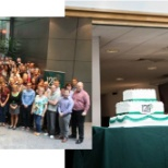 Employees take part in Northern Trust's 125th Anniversary (1889-2014) celebration around the world.