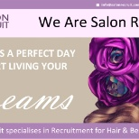 Looking for a job in a Hairdressing or Beauty Salon contact us at : www.salonrecruit.com.au