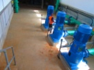 INSTALLATION OF PIPES AND PUMPS