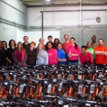 Resurgent Capital Services, LP photo: Resurgent employees love to help the community!