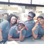 The Burger King night crew is amazing. I know because I am in the picture.
