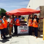 Safety BBQ with the HD team