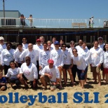 Our first annual Senior Leadership Institute Volleyball game.