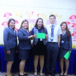Awarding our Subordinates for Hitting the Sales Plan