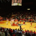 Basketball game for the Miami Redhawks