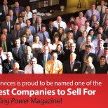"Named to the ""50 Best Companies to Sell For"" List by Selling Power magazine"