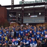 AmerisourceBergen photo: Associates participating in Philadelphia Heart Walk