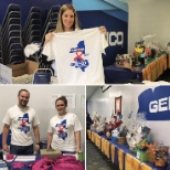 Following Hurricane Harvey, our Woodbury associates held a fundraiser for Houston GEICO associates!