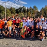 Tough Mudder employees before the Tri-State event, Oct 12th & 13th. Just another day at the office