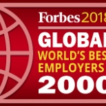 Proud to be recognized in Forbes 2018 Global Best Employers List!