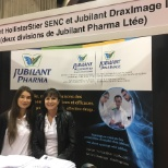 Jubilant employees visited the National Job Fair in Montreal October 2018.