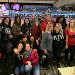 Members from our PL team at the Raptors Game