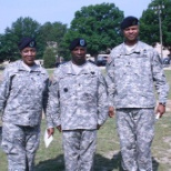 Taking over as 1SG of 66th QM CO