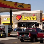 Love's Travel Stops & Country Stores photo: Outside view of Love's Travel Stop in Hamel