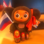 Cheburashka - supporter of Indeed Russia