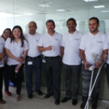 An Event of Successfull movement in to new office with Unit Managing Director and all sourcing team.