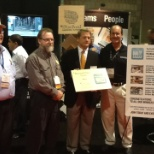Columbia Forest Products photo: PureBond Quality Award received