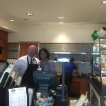 Starbucks Grand Opening with CFO