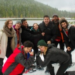 LP employees enjoy a day of snowshoeing planned by our activities committee.