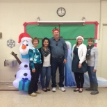 LBDN Board and staff at the Holiday toy give away