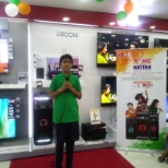 LG Brand store aing of nation activity