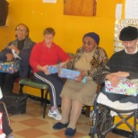 Donations to Senior Citizens in Old Age home