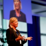 SAP photo: Anka Wittenberg, SAP Chief Diversity & Inclusion Officer,  speaking