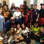 Cortland Partners photo: Cortland Communities get their spook on at Halloween!