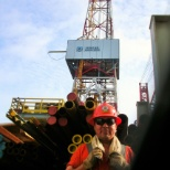 ExxonMobil photo: Wishing I was back in Alaska or USA, to hot.